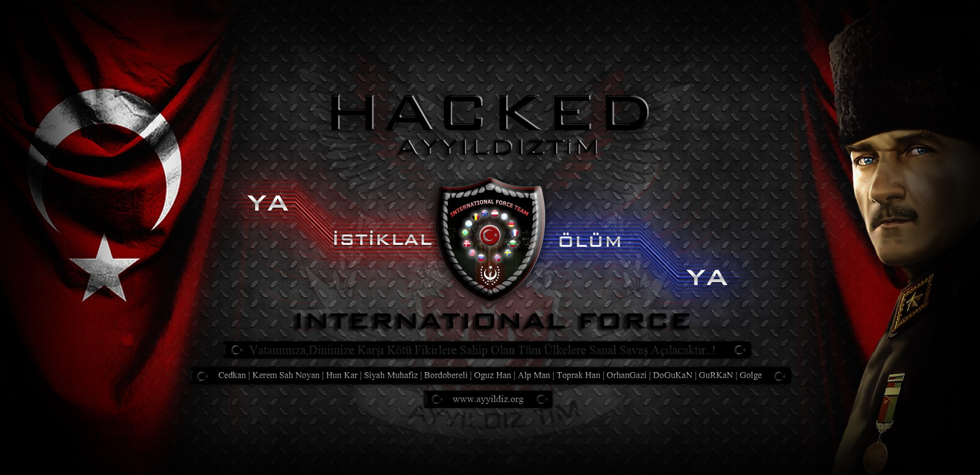 Hacked By International Force