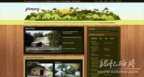 Go Glamping  http://goglamping.net/