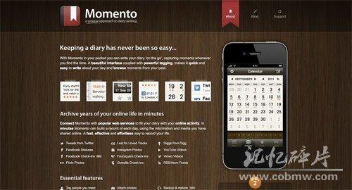 Momento  http://www.momentoapp.com/