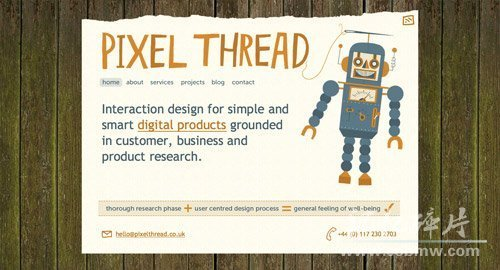 Pixel Thread  http://www.pixelthread.co.uk/